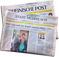 Die Rheinische Post über Betreuungsvermittlung24